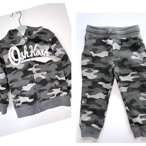Camouflage Hoody  and joggers set